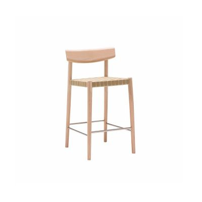 SMART COUNTER STOOL W. WOVEN BAND SEAT