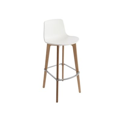 LOTTUS WOOD COUNTER STOOL