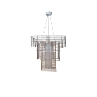 MESH CUBIC SUSPENSION LAMP