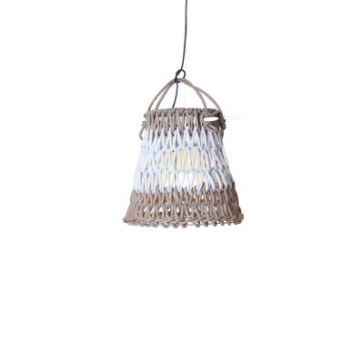 KNOTTEE SUSPENSION LAMP IN GREY